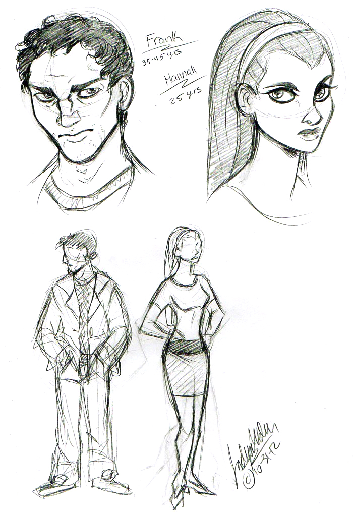 First C+T Sketches by MistyTang
