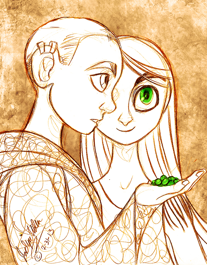 Brendan and Aisling by MistyTang