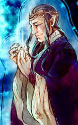 Elrond of Rivendell by DrMistyTang