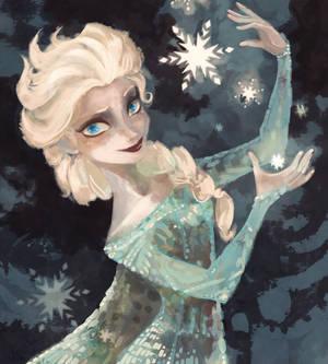 Elsa Waterhouse Coloring Book