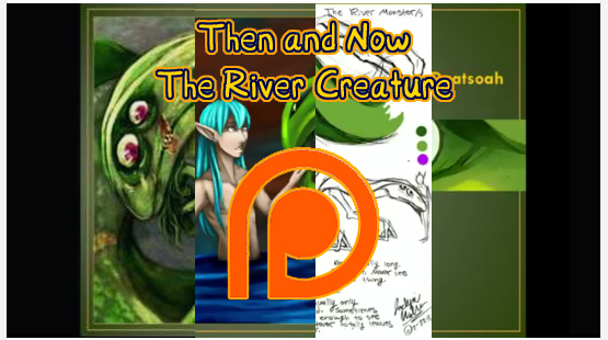 Then and Now - The River Monster by DrMistyTang