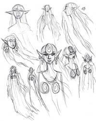 Elegant Elf Ghost by DrMistyTang