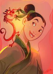 Mulan Coloring Book