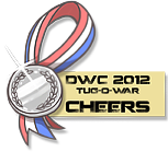 DWC 2012 - Mini Contest Medals (Cheerleaders) by YourSexyTaiki