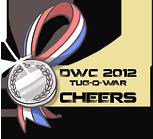 DWC 2012 - Mini Contest Medals (Cheerleaders) by YourSexyTaiki