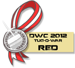DWC 2012 - Mini Contest Medals (Red Team) by YourSexyTaiki