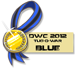 DWC 2012 - Mini Contest Medals (Blue Team) by YourSexyTaiki