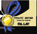 DWC 2012 - Mini Contest Medals (Blue Team) by YourSexyTaiki