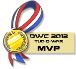 DWC 2012 - Mini Contest Medals (MVPs) by YourSexyTaiki