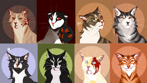 Lots of cats [BUNCH]
