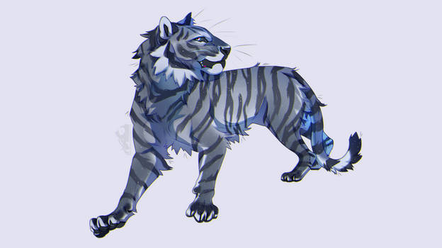 celestial tiger [custom design commission]