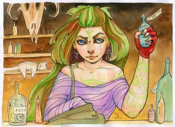 Witch 003 by NatashaSolo