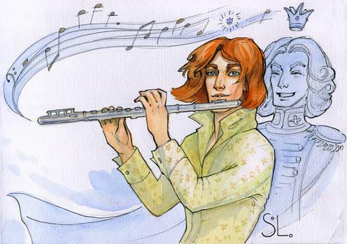 Prince wandering musician