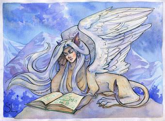 Wise Sphinx by NatashaSolo