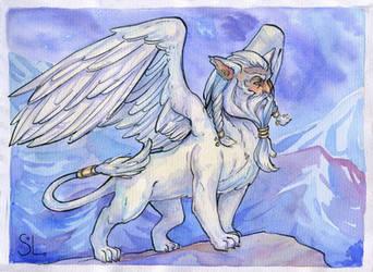 Severe Sphinx by NatashaSolo