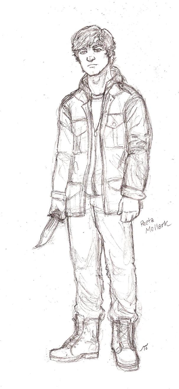 Hunger Games Peeta Drawing HG Peeta Mellar...