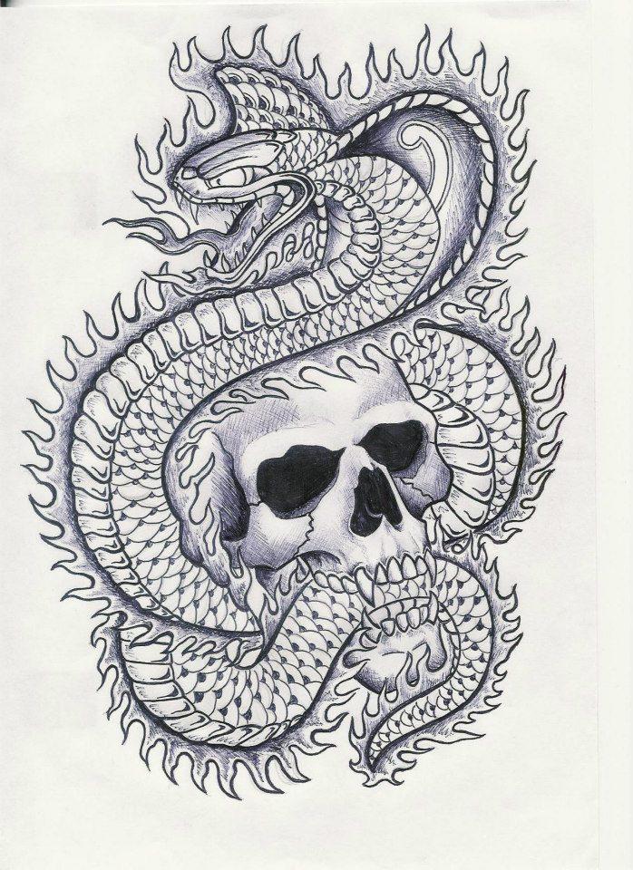Skull And Snake Garver By Sympmack3 On Deviantart