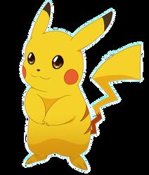 Pikachu by Kuraireon