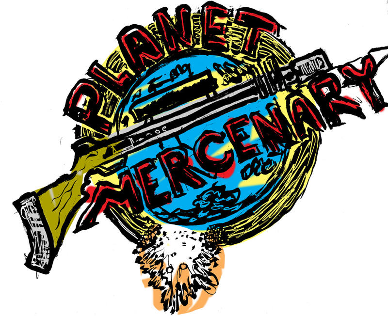 PlanetMercenary-Mockup2 by HowardTayler