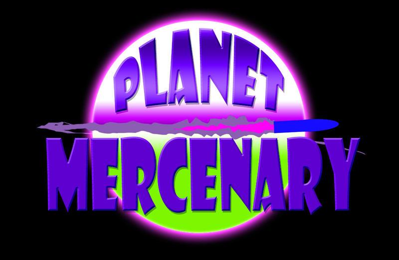 PlanetMercenaryLogoMockup3d by HowardTayler