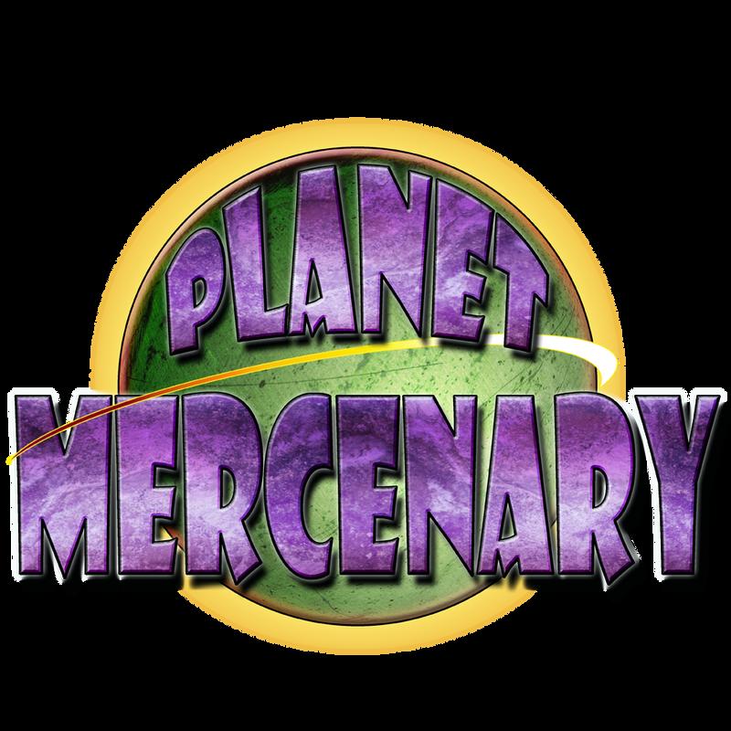 PlanetMercenaryLogo by HowardTayler
