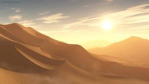 Vue Desert scene