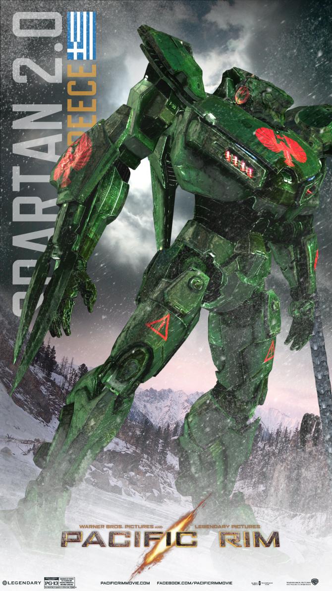Pacific Rim - Jaeger: Spartan 2.0 by spiralturbo on deviantART Pacific Rim Jaeger Stats