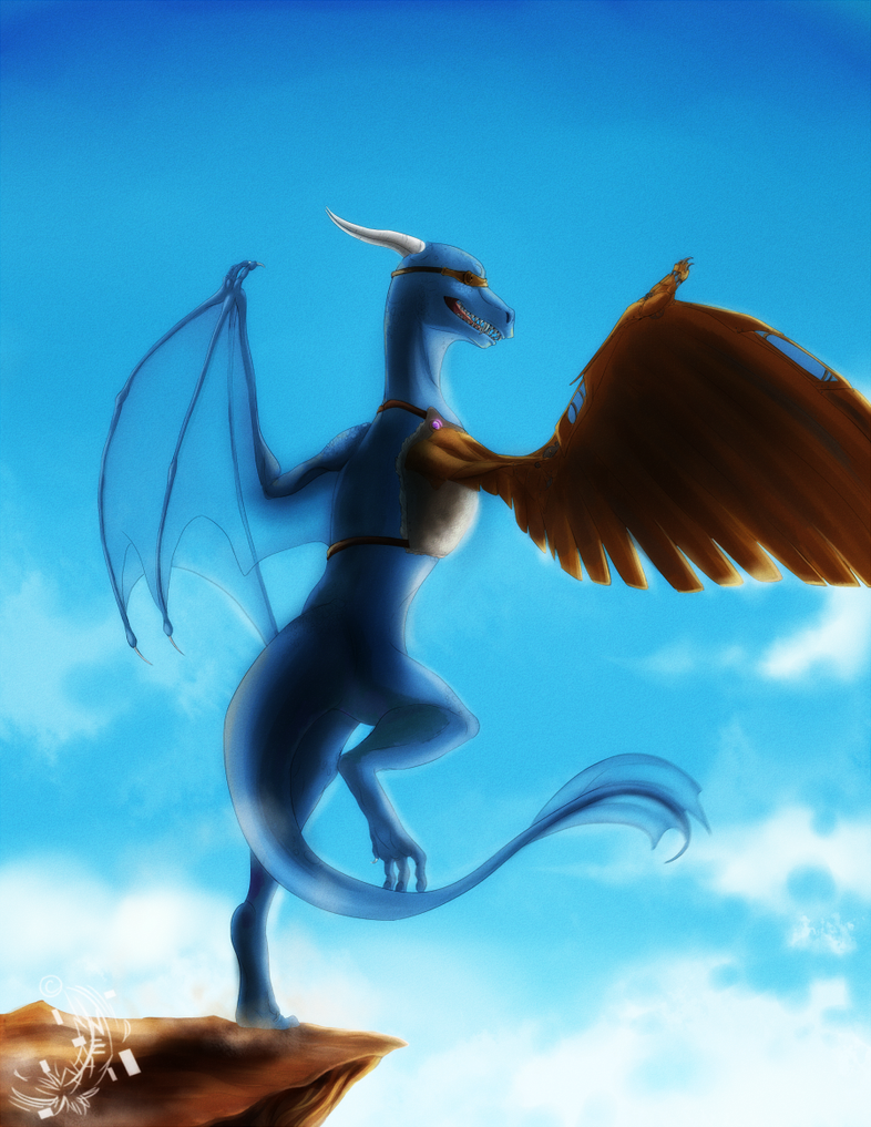 Taking flight by Akayesia