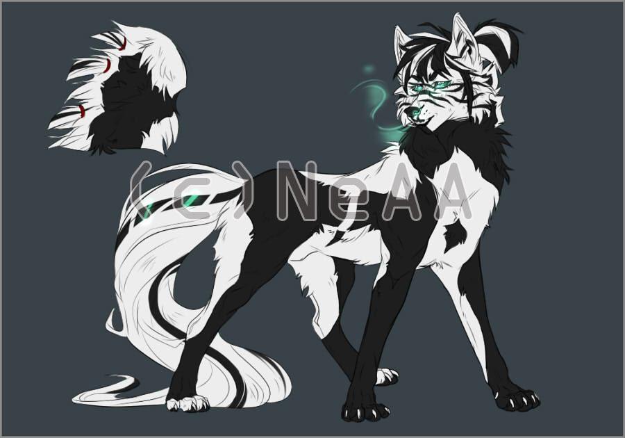 Wolf Thing Adopt OPEN by Akayesia