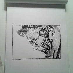 tattoo artist from indonesia