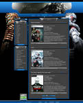 Game portal web design