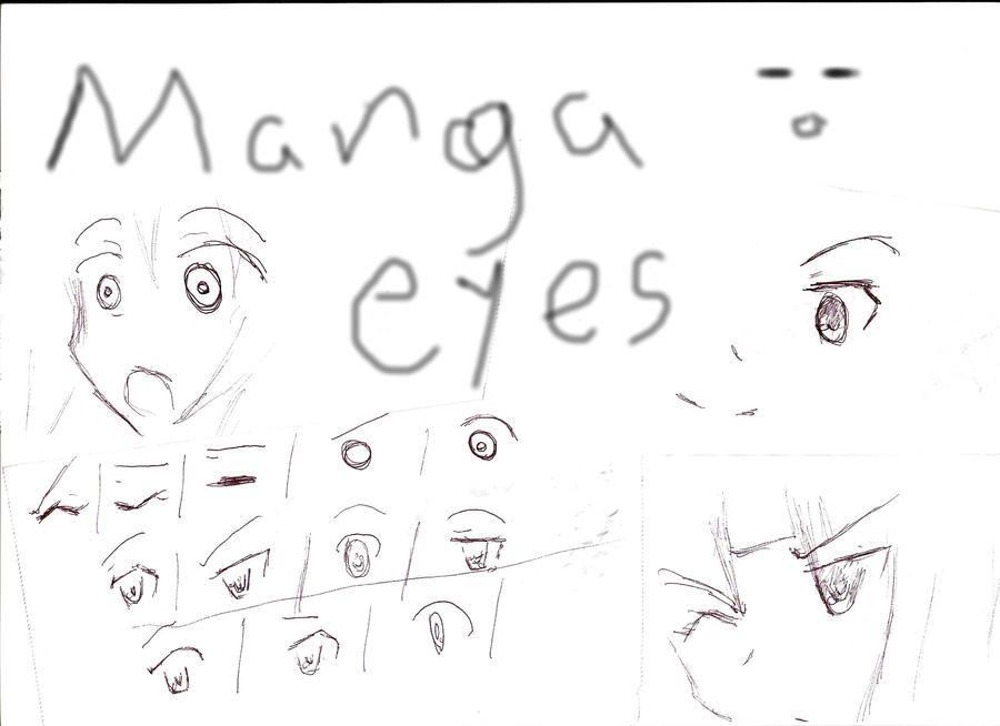Manga Eyes Tutorial And Tips By Anime FTW92 On DeviantArt