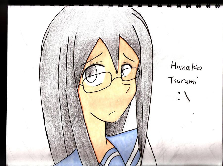 Manga drawing Hanako finished by Anime-FTW92