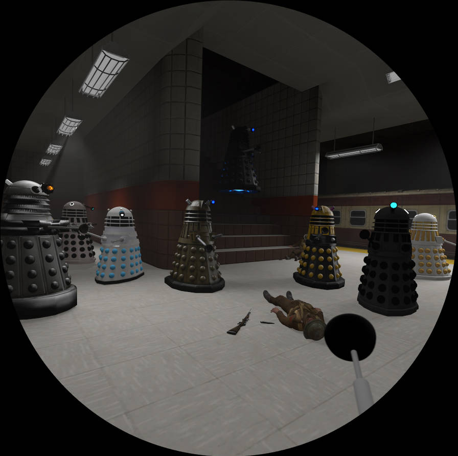Sfm Subway Map.Sfm Dalek Subway Invasion By Poptartcat123 On Deviantart