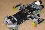 Starcraft Battlecruiser-Legos
