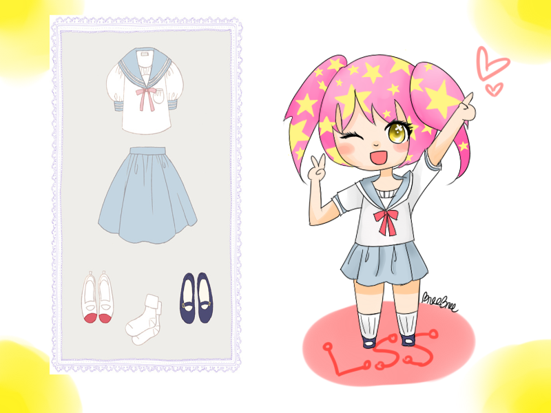 School Outfit by StrawbreeIcy