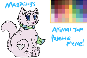 i promise i didnt design her on animal jam by OpaIescent
