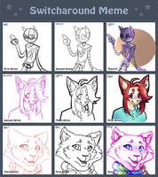 switcharound meme (collab) by OpaIescent
