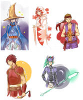 GoA Final Fantasy Crossovers by CherryOrange
