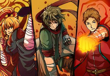 Warriors by CherryOrange