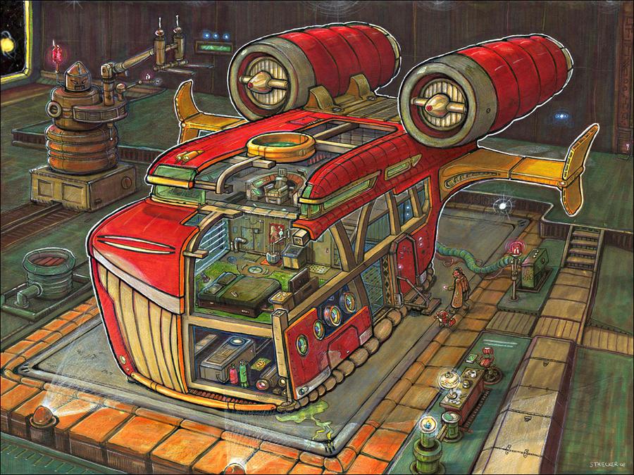 Bertha by DMStrecker