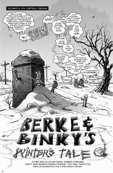 Berke and Binky Page 1