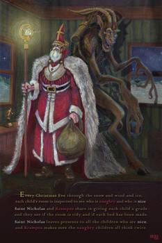 Saint Nicholas and Krampus