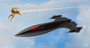 SR-91 Hypersonically Surveilled