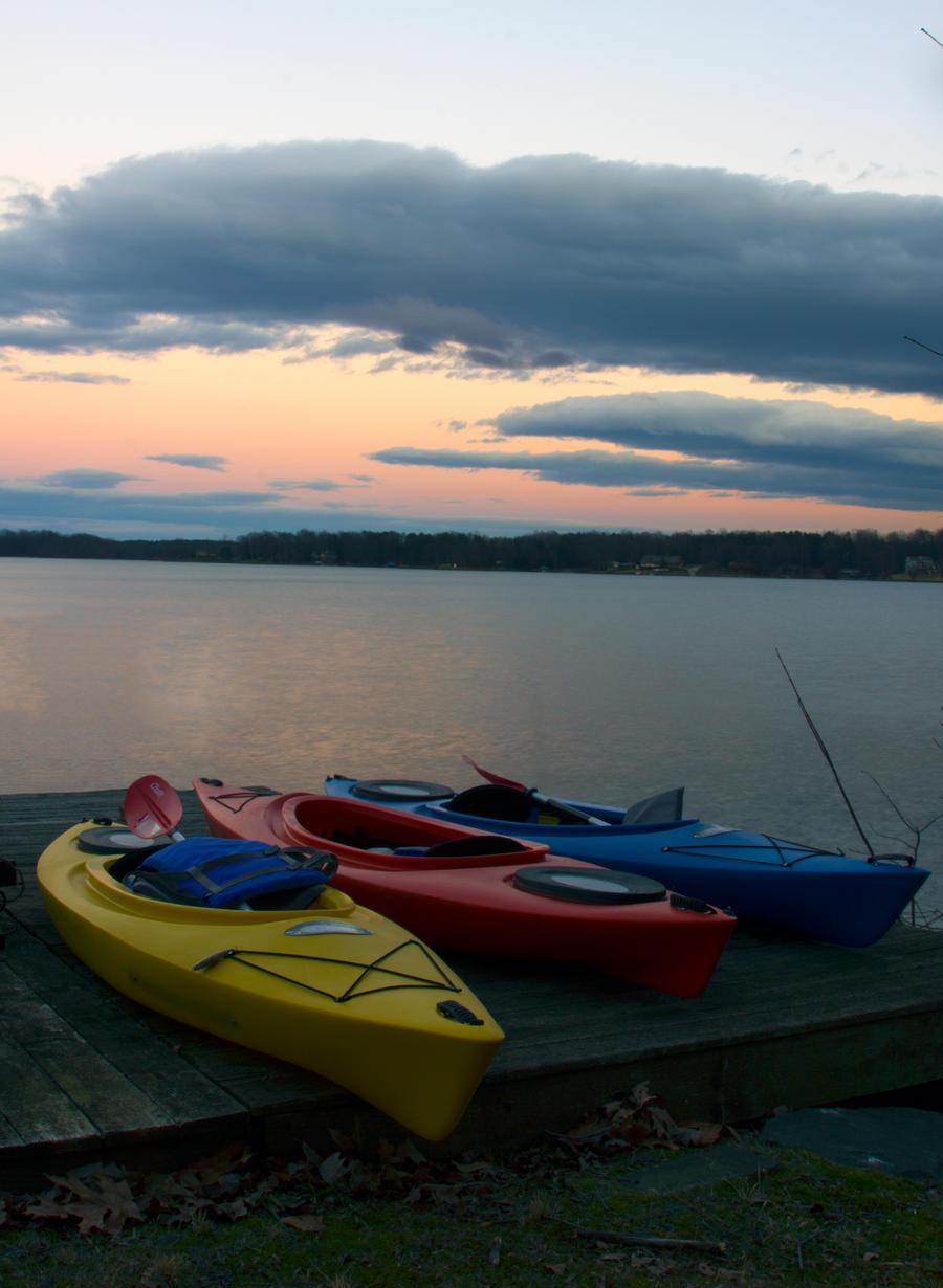 Kayaks by SiriusLeo
