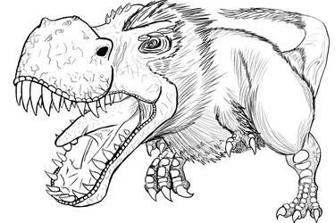 T-Rex by fredgerd