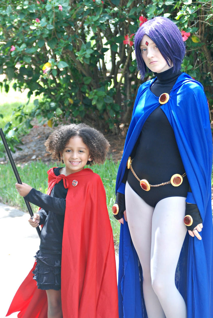 (AFO) Raven and Ruby by tothestarsandback