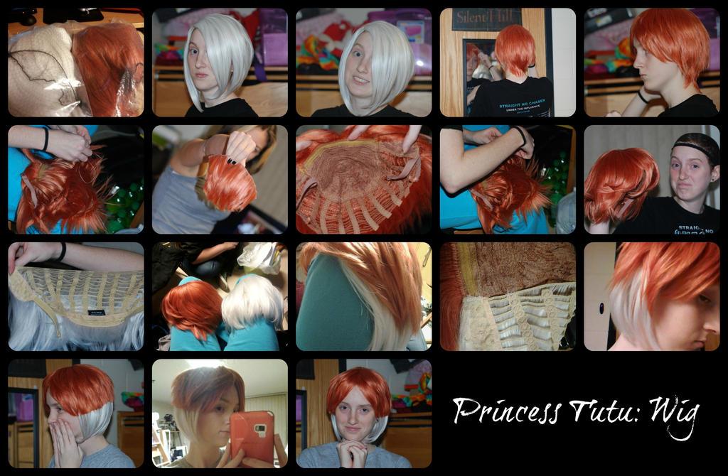 Princess Tutu: WIP (Wig) by tothestarsandback