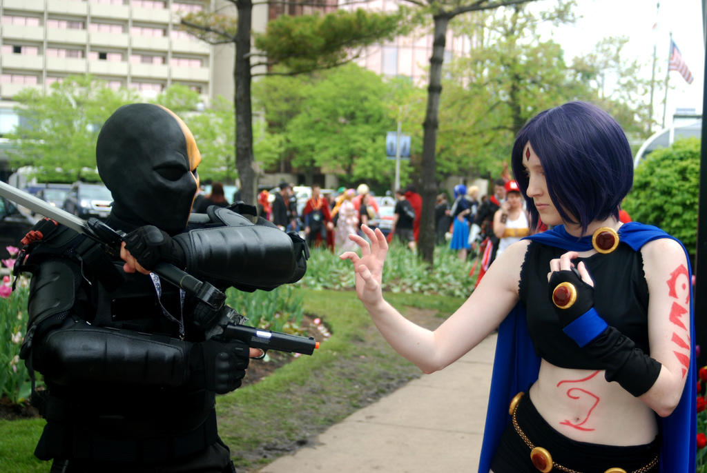 Slade Versus Raven by tothestarsandback