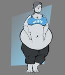 Wii Fit Trainer's Blubber Gut